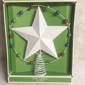 Other - Christmas Tree Star Shimmer Topper